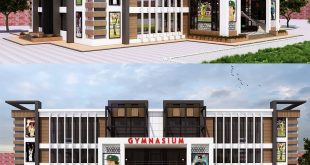 Architectural Visualization - BISE High School - 3DS Max & Vray