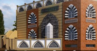 Architectural visualization - Peshawar Mosque - 3DS Max & Vray