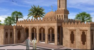 Architectural visualization - UAE Mosque - 3DS Max & Vray