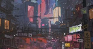 Graphic by  Check the artist for more. Follow us for more daily cyberpunk