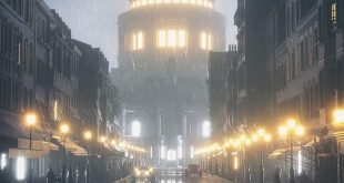Shimmering streets and glowing lights By w / VICTORIAN | Use for your work with