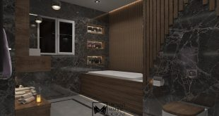 • Every design decision we make has a sensual effect on us.  • Modern bathroom Loca