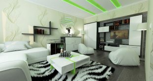 Design project for a 1-room apartment in the city of Pushchino.  The project was carried out 2 years ago,
