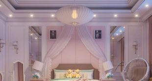|  Girls bedroom |  Night shots |  Design and 3D visualization by: |  Software: 3d