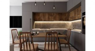 The design of the kitchen-dining room in the new project • Area of ​​the kitchen 20 square meters ⠀⠀ • Total area