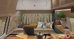 We continue to develop and improve the interior of our mobile home