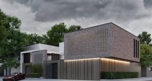 Good day friends. We present you our new design project of the residential building