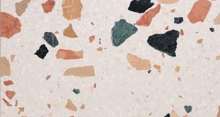 The terrazzo trend has appeared since 2017 and replaces the marble trend