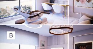 Which would you choose A or B ?! | Architecture and rendering of: . Used software