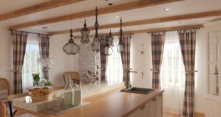 Beautiful morning kitchen render for a large family who has abandoned life