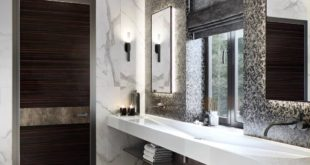 HOUSE FROM A BAR. BATHROOM. ... Visual interior project for designer Maria Detko