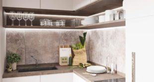 Small kitchens are a challenge for which we always have a great solution. • • •