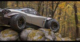 isn't this crazy design? Pagani huayra off-road. Inspired  . I was so I