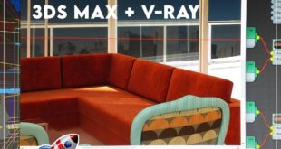 Migration courses, project 7 That's all!  3ds Max and V-Ray It has never been so easy !!!