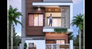 3D visualization of residential buildings (Software used - 3ds Max and PS)