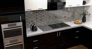 • modern kitchen design • software: 3dsmax, vray, ps These are glass cabinets that
