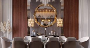 - dining room design from - Location: Doha - Qatar - Design and visualization